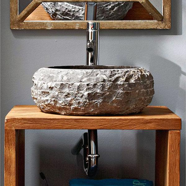 Lavabo in marmo ceramiche bagno - Lavabo pietra bagno ...