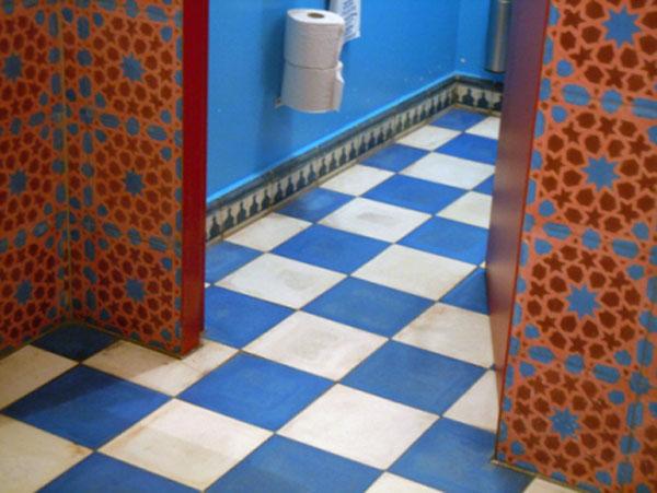 Piastrelle di cemento da fez marocco ceramiche bagno - Rimuovere cemento da piastrelle ...