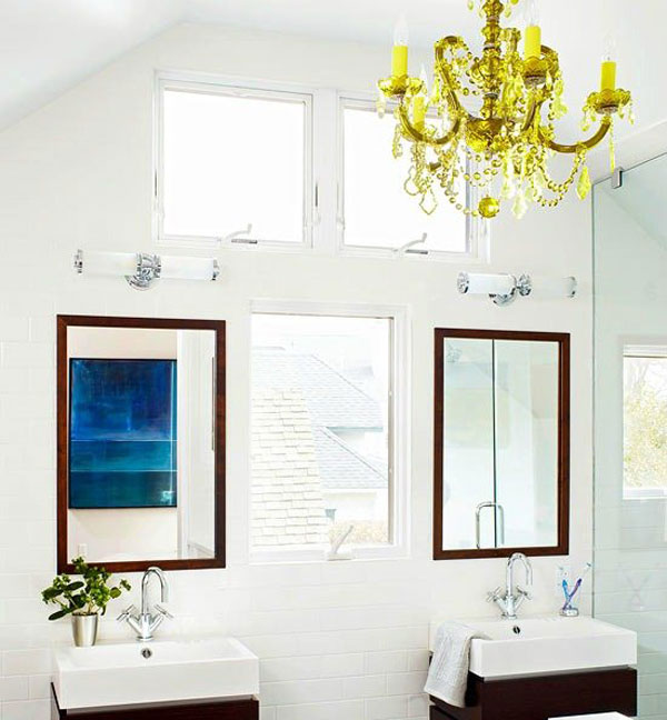 lampadario per bagno : Lampadari di cristallo per il bagno Ceramiche Bagno