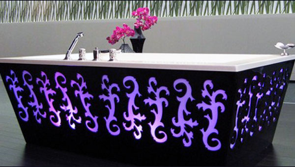 Vasca da bagno Arabesque