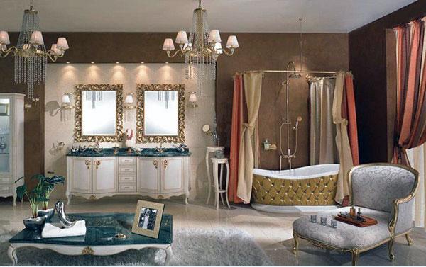 Bagni classici eleganza e valore nel tempo ceramiche bagno - Accessori bagno classico ...