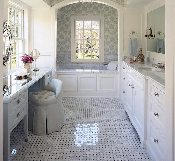 Foto bagni eleganti idee creative di interni e mobili - Ceramiche bagno classico ...