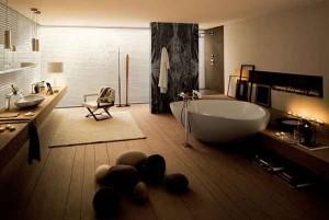 Bagno progettato dal designer francese Jean Marie Massoud