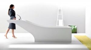 Symbiosis, vasca con lavabo